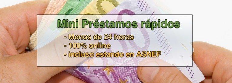 mini prestamos rápidos - ASNEF